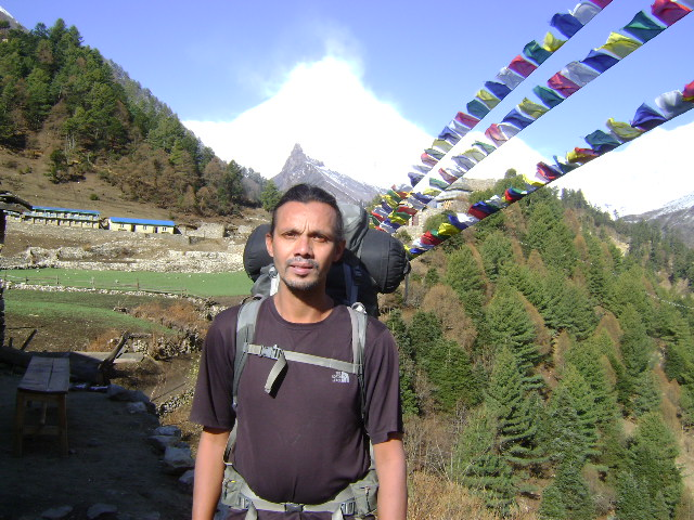 Roshan Subedi - the mountain guide